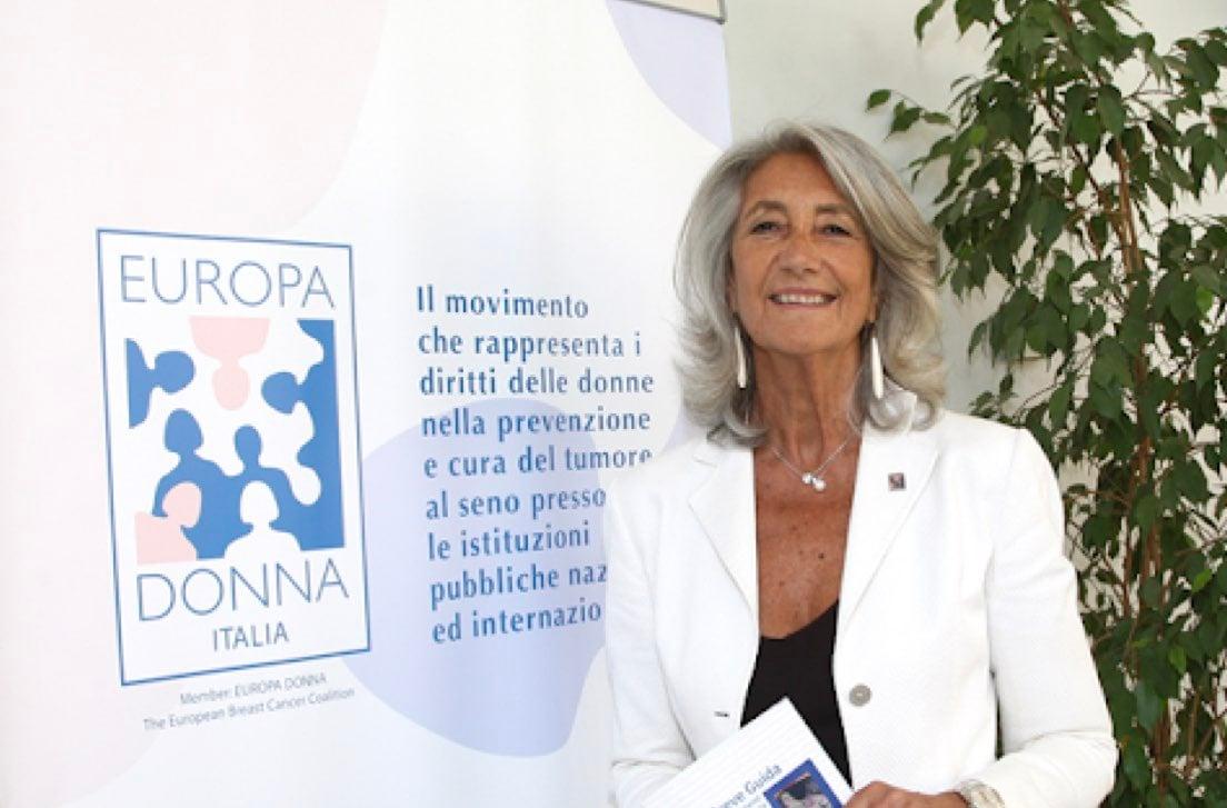 Rosanna D'Antona, presidente Europa Donna Italia